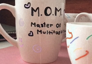 Mother's day cups